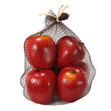 Faux Red Apples 6Pc/Bag