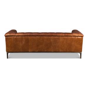 Cuba Brown Cube X 3 Sofa