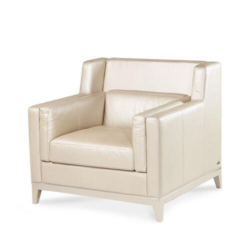 Group 1 Opt 2 Leather Chair Pearl