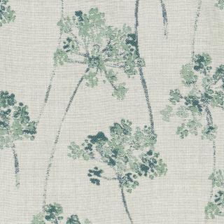 Stem Turquoise Fabric
