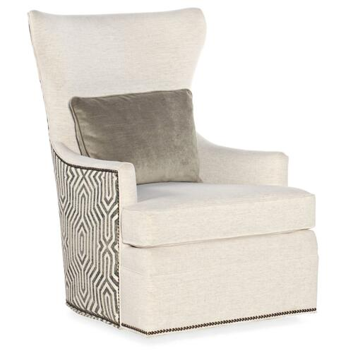 Living Room Beck Swivel Chair