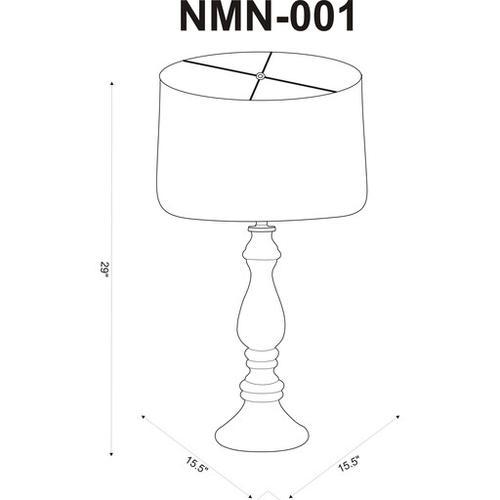 """Newman NMN-001 29""""H x 15.5""""W x 15.5""""D"""