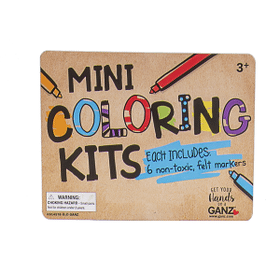 Mini Coloring Kit Header Card
