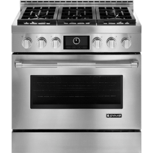 "Pro-Style® 36"" Gas Range with MultiMode® Convection, Pro-Style® Stainless Handle"