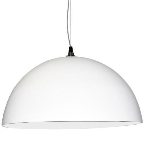 Product Image - 3 Bulb Pendant, White Finish