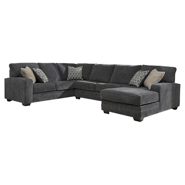 See Details - Tracling 3-piece Sectional With Chaise