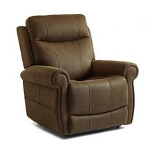 Stewart Power Lift Recliner with Power Headrest & Lumbar in Amber Brown