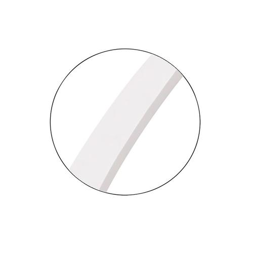 Kit Round Mirror Matte White