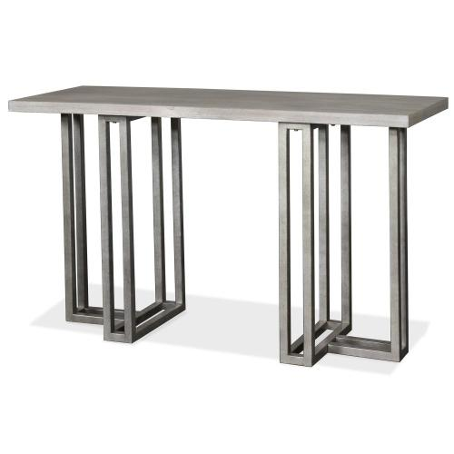 Adelyn - Sofa Table - Crema Gray Finish