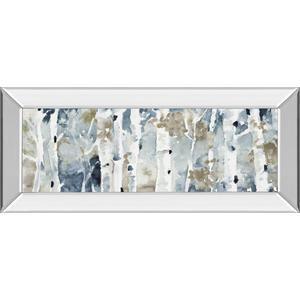 """Blue Upon The Hill"" By Lanie Loreth Mirror Framed Print Wall Art"