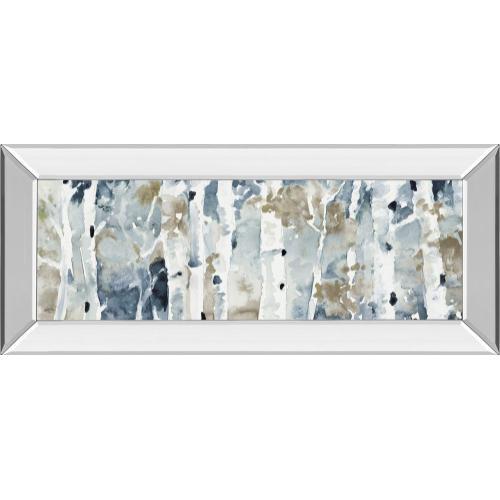 """Blue Upon The Hill"" By Lanie Loreth Mirror Framed Print Wall Art"