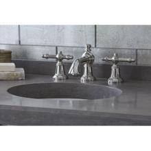 See Details - Sink Faucet, Lever Handles - Nickel Silver
