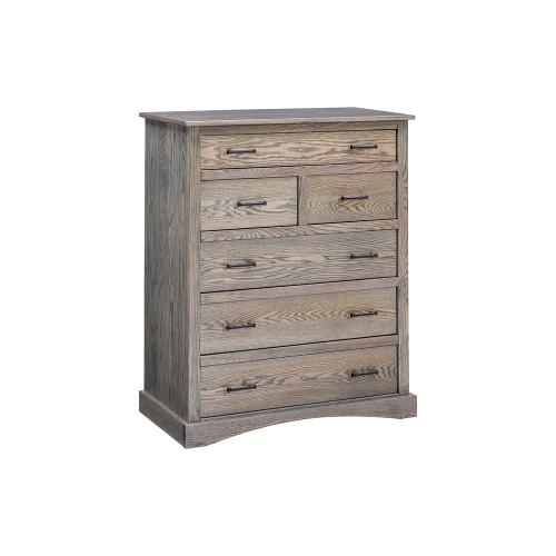 Summerset 6 Drawer Chest - Grey Flannel