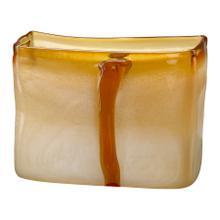 See Details - Sm Cream/cognac Vase