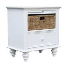 St. Croix Basket Drawer Nightstand