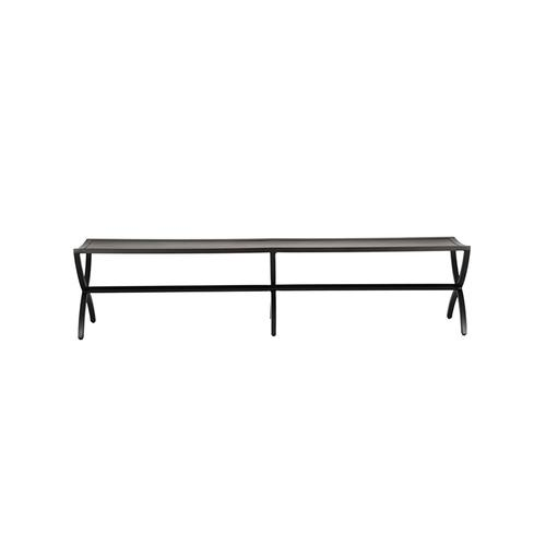 """Castelle - Preserve 78"""" Smooth Aluminum Top Bench"""