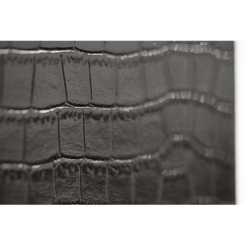Black Iguana Curio w/Drawers (2 pc)