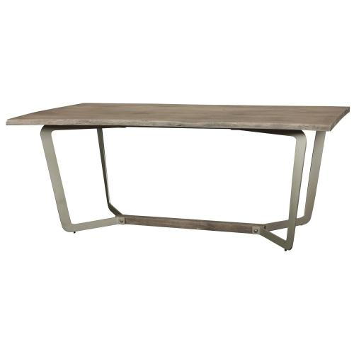 Waverly - Dining Table - Sandblasted Gray Finish