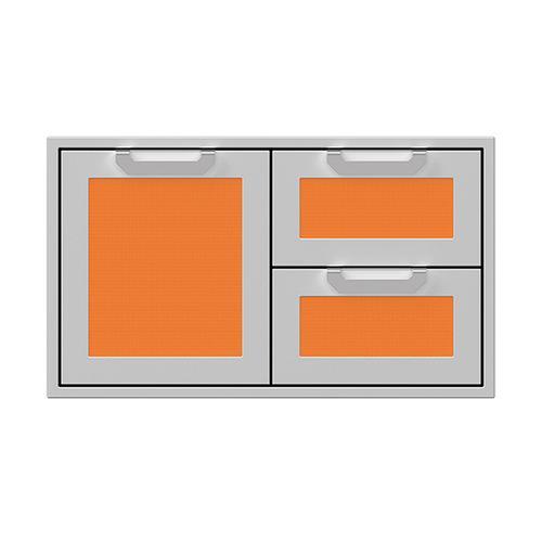"""Hestan - 36"""" Hestan Outdoor Combo Door/Drawer - AGSDR Series - Citra"""