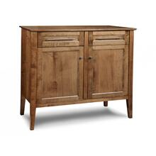 View Product - Stockholm Sideboard w/2 Wood Doors & 2/Dwrs & 1/Wood Adjust.
