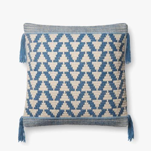 P0592 Blue / Ivory Pillow