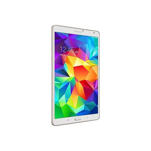 "Samsung - Samsung Galaxy Tab S 8.4"" 16GB (Wi-Fi) (Certified Refurbished), Dazzling White"
