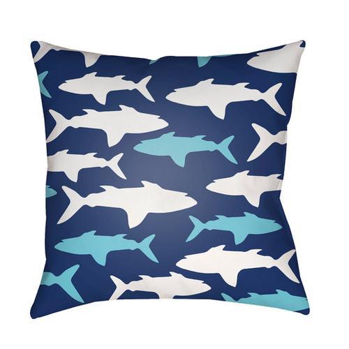 """Sharks LIL-072 18""""H x 18""""W"""