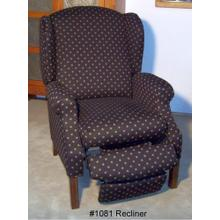 High Backed Recliner - Available in Heartland Ink ONLY
