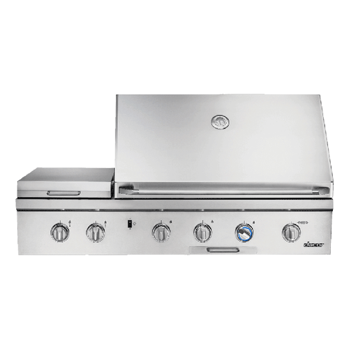 "52"" Outdoor Grill with Infrared Sear Burner, Stainless Steel, Liquid Propane"