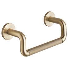 """See Details - 8"""" Mini Towel Bar With Knurling"""