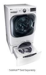 LG WM8000HWA Laundry Front Load Washer 5.2 cu. ft. Mega Capacity TurboWash Washer with Steam Technology