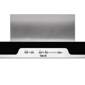 "Eclisse - 35-7/16"" Stainless Steel Chimney Range Hood with iQ6 Blower System, 600 CFM"