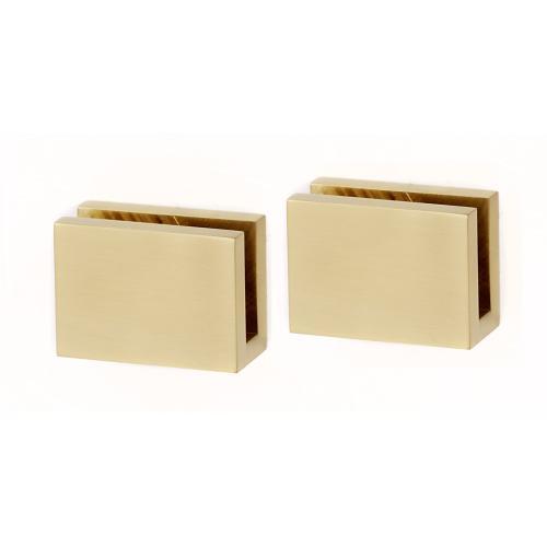 Contemporary II Shelf Brackets A8455 - Satin Brass