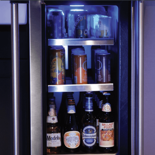 Marvel - 15-In Professional Built-In Beverage Center With Reversible Hinge with Door Style - Stainless Steel