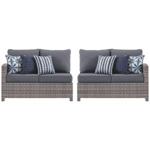 3-piece Outdoor Sectional With Chair, Coffee Table and End Table