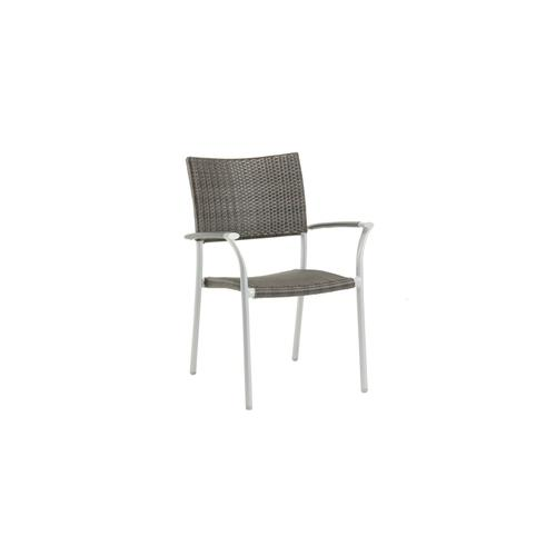 Product Image - New Roma Stacking Arm Chair w/Aluminium Armrest