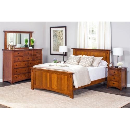 Gallery - McCoy Panel Bed - QuickShip, Queen