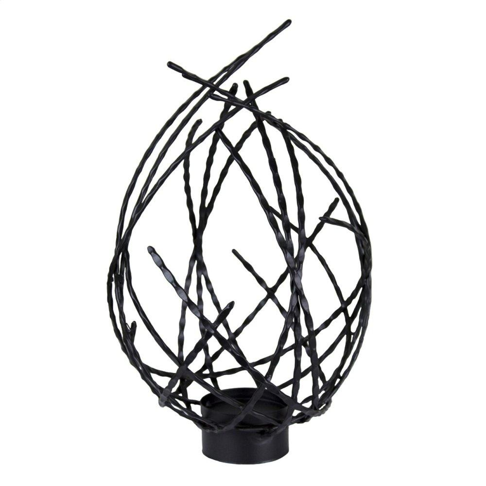 Metal Twig Tealight Candle Holder