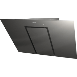 MieleDA 6498 W Pure Grey - Wall ventilation hood with energy-efficient LED lighting and touch controls for simple operation.