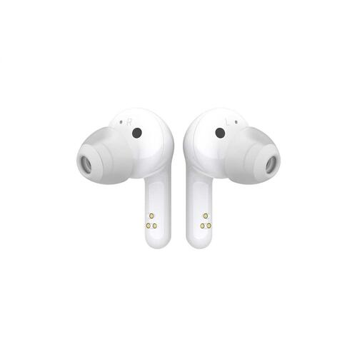 LG TONE Free HBS-FN6 Bluetooth® Wireless Stereo Earbuds with UVnano Charging Case and Meridian Audio (White)