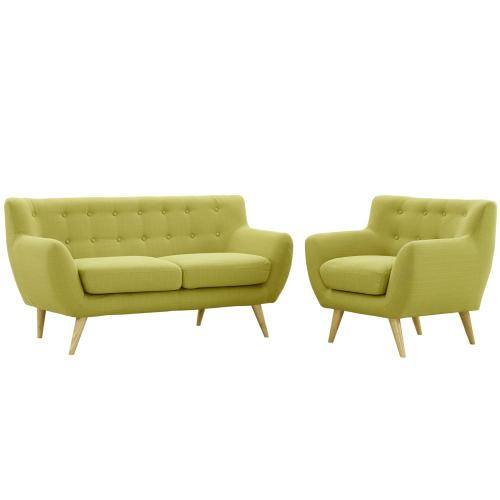 Remark 2 Piece Living Room Set in Wheat