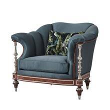 Leora Club Chair - Chanelled Back