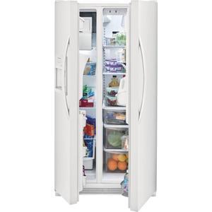 SCRATCH & DENT Frigidaire 25.5 Cu. Ft. Side-by-Side Refrigerator