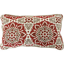 Hanover Medalion Lumbar Throw Pillow, in Berry, MEDLUMB-BRY