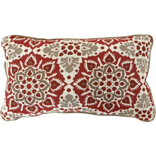 Hanover Medalion Lumbar Throw Pillow, in Berry, MEDLUMB-BRY