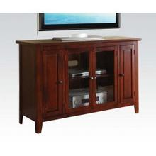 See Details - Cherry Finish TV Stand