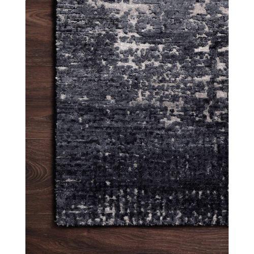 LAZ-04 Charcoal / Silver Rug