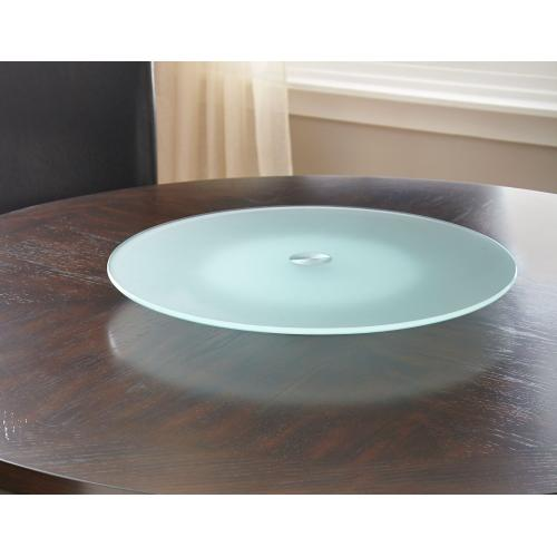 Avenue Lazy Susan 8mm (Tempered), Frosted