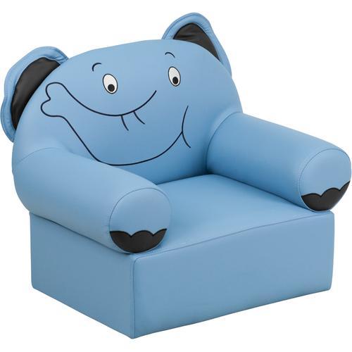 Kids Blue Elephant Chair