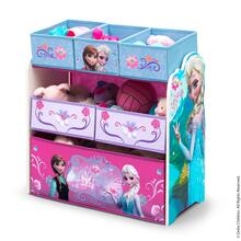 Frozen Multi-Bin Toy Organizer